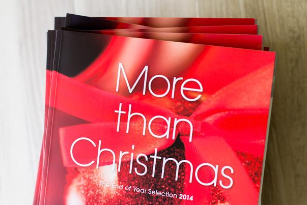 More than Christmas. Catalogue 2014