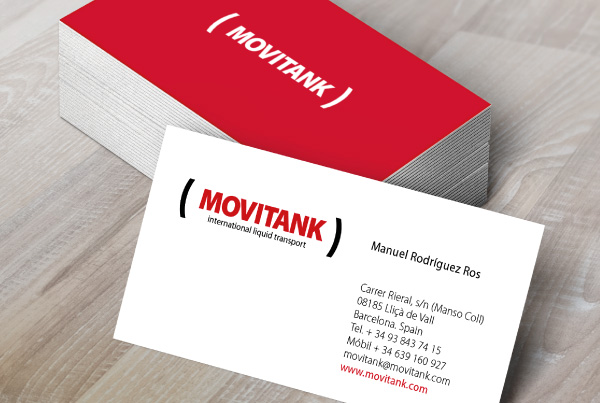 MOVITANK. Brand Corporate Image