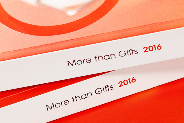 More than Gifts. Catalogue 2016